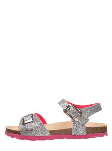 TREVIRGOLAZERO Sandały w kolorze srebrno-różowym