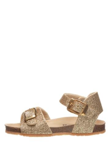 TREVIRGOLAZERO Sandalen goudkleurig
