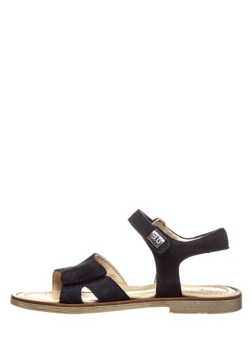 TREVIRGOLAZERO Leren sandalen donkerblauw