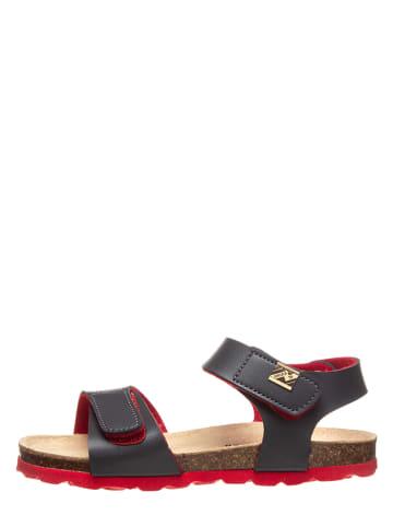 TREVIRGOLAZERO Sandały w kolorze niebiesko-czerwonym