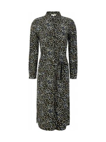 Soft Rebels Sukienka w kolorze czarnym ze wzorem
