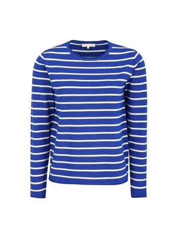 Soft Rebels Koszulka w kolorze niebiesko-białym