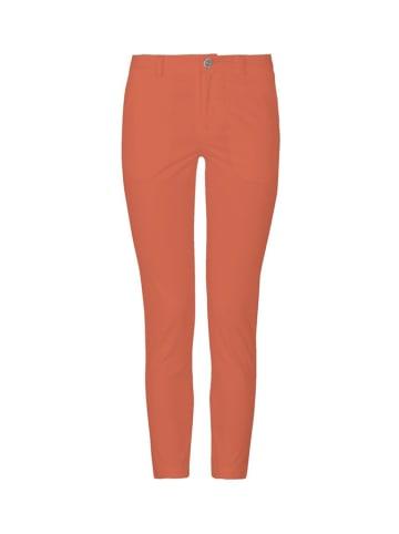 Soft Rebels Spodnie w kolorze pomarńczowym