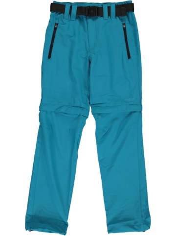 CMP Spodnie Zipp-Off w kolorze morskim