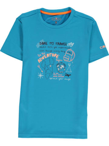 CMP Functioneel shirt turquoise