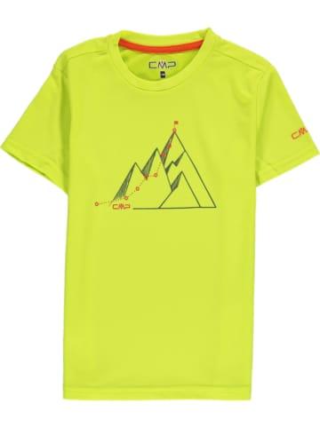 CMP Functioneel shirt limoengroen