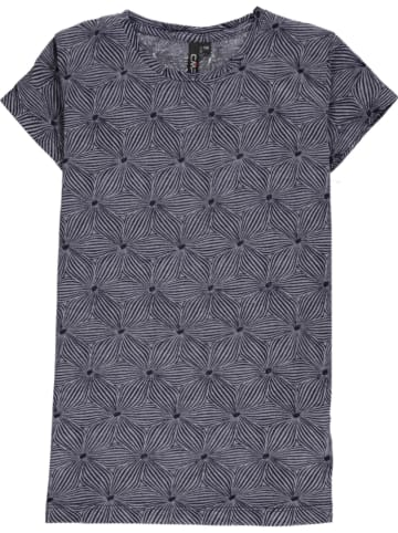 CMP Shirt donkerblauw/grijs