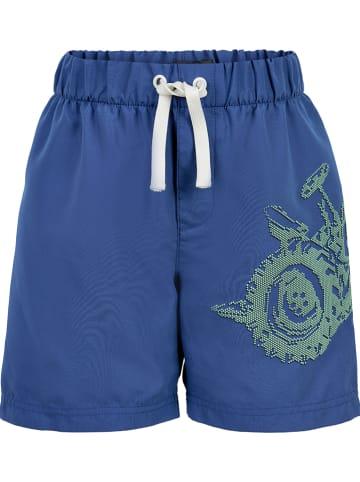 MeToo Shorts in Blau
