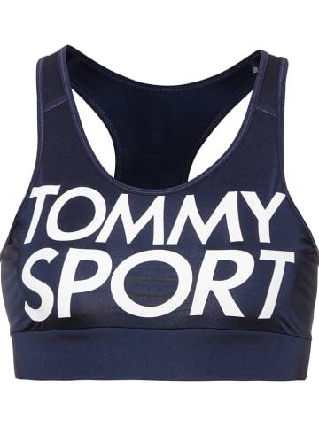 Tommy Sport Sportbeha donkerblauw - low support