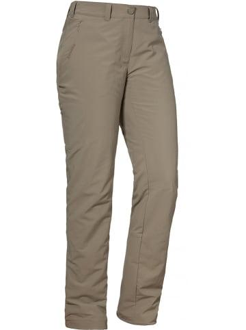 Schöffel Spodnie trekkingowe w kolorze beżowym