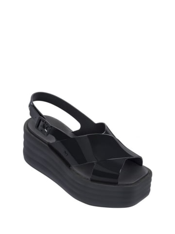 Zaxy Sandały w kolorze czarnym