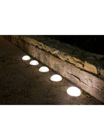 "Lumisky LED-Solarleuchte ""Half Moon"" in Weiß"