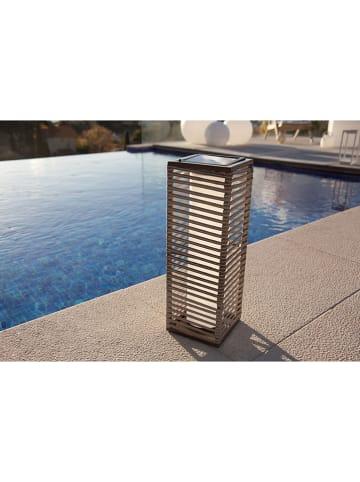 "Lumisky LED-Solarleuchte ""Stripy"" in Grau - (H)44 cm"