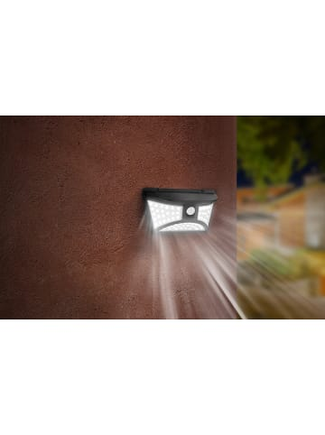 "Lumisky Solarna lampa LED ""Junker"" w kolorze czarnym - 21 x 12 cm"