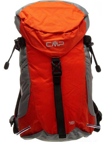 CMP Rucksack in Grau/ Orange - (B)28 x (H)50 x (T)12 cm