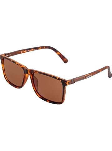 """Breed Damskie okulary przeciwsłoneczne """"Caelum"""" w kolorze brązowym"""