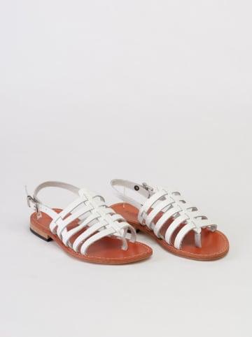 Baldinini Leren sandalen wit