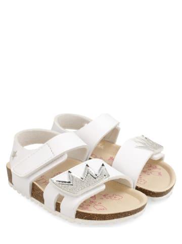 Garvalin Sandały w kolorze białym