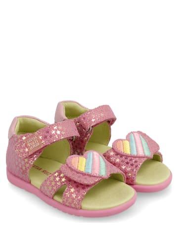 Agatha Ruiz de la Prada Leren sandalen lichtroze