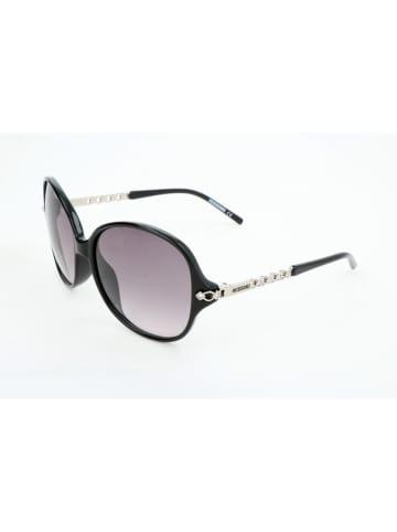 Missoni Damen-Sonnenbrille in Schwarz-Silber/ Grau