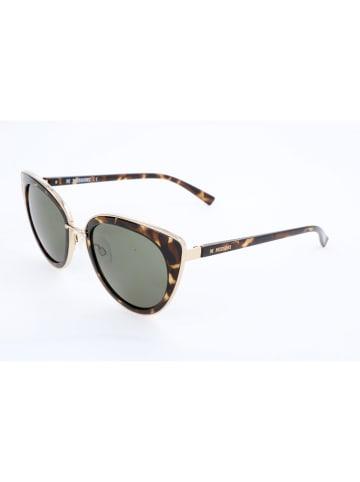 Missoni Damen-Sonnenbrille in Braun-Gold/ Grün