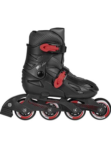 "Playlife Inline skates ""Riddler"" zwart/rood"