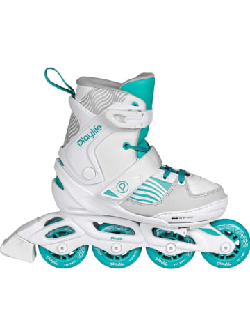 "Playlife Inline skates ""Light Breeze"" wit/turquoise"