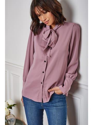 """Vanille & Chocolat Bluzka """"Lea"""" w kolorze fioletowym"""