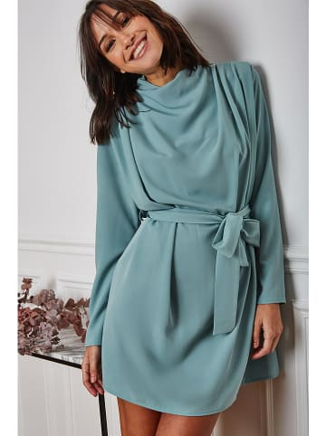 "Vanille & Chocolat Kleid ""Levana"" in Petrol"