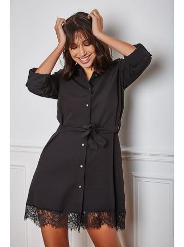"Vanille & Chocolat Sukienka ""Liel"" w kolorze czarnym"