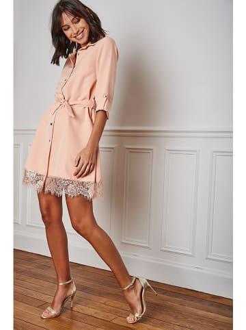"Vanille & Chocolat Kleid ""Liel"" in Rosa"