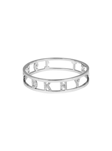 DKNY Bransoletka w kolorze srebrnym z kryształami Swarovski