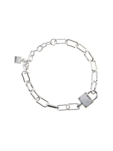DKNY Bransoletka w kolorze srebrnym