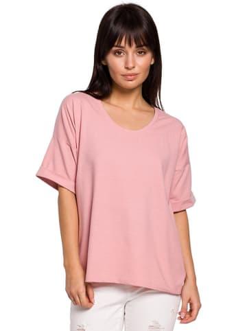 Be Wear T-shirt w kolorze jasnoróżowym
