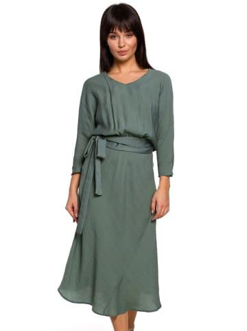 Be Wear Sukienka w kolorze zielonym