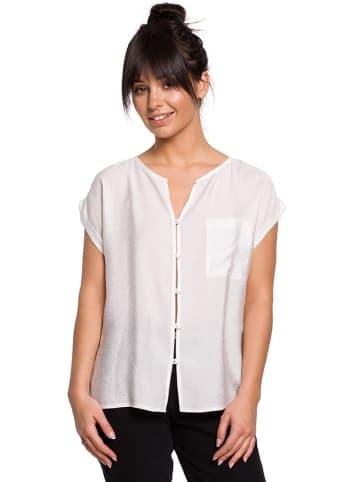 Be Wear Bluzka w kolorze białym
