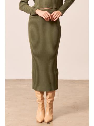 Bynamesakke Spódnica w kolorze khaki