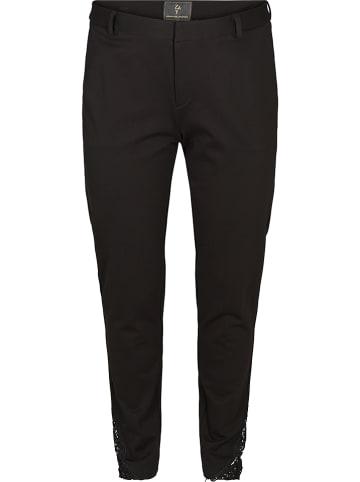 ZAY Spodnie w kolorze czarnym