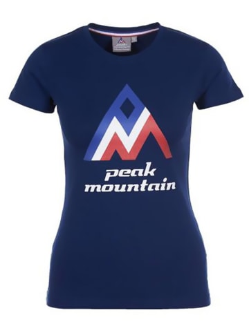 Peak Mountain Koszulka w kolorze granatowym