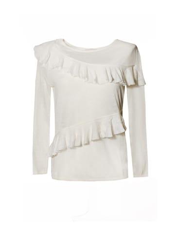 STEFANEL Bluzka w kolorze białym