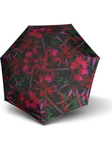 "Knirps Paraplu ""Knirps T.050 Medium Manual"" zwart/roze"