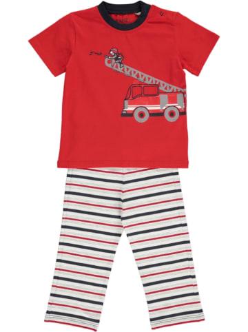 Kanz Pyjama rood/wit
