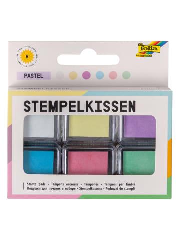 Folia Kolorowe poduszeczki (6 szt.) do tuszu