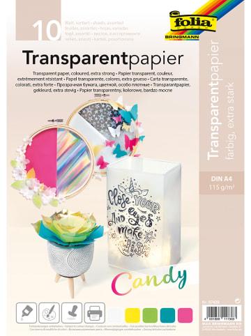Folia Transparentny papier (10 szt.) - A4