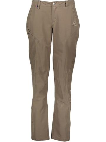 """Odlo Spodnie funkcyjne """"Altabadia"""" w kolorze khaki"""