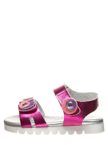 Little Sky Leren sandalen roze