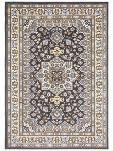 """Nouristan Geweven tapijt """"Parun"""" antraciet"""