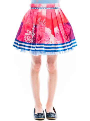 "Rosalita Señoritas Rok ""Libby"" blauw/roze/wit"