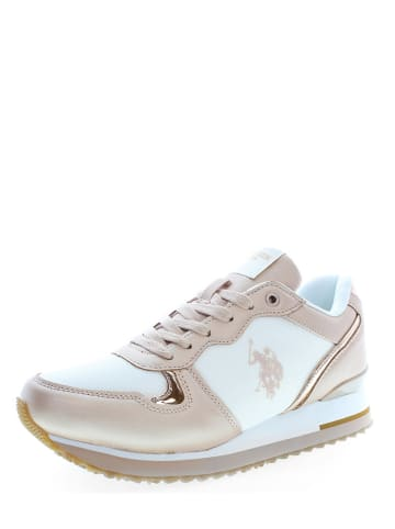 "U.S. Polo Assn. Sneakers ""Tuzla 2"" in Rosa/ Weiß"