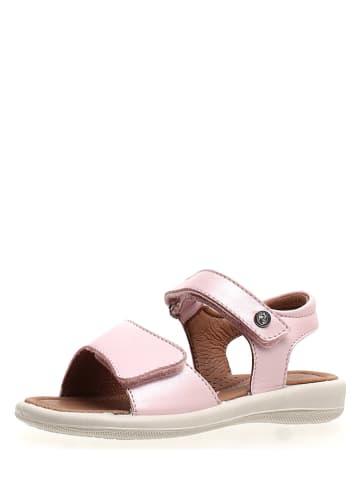 Naturino Leren sandalen lichtroze